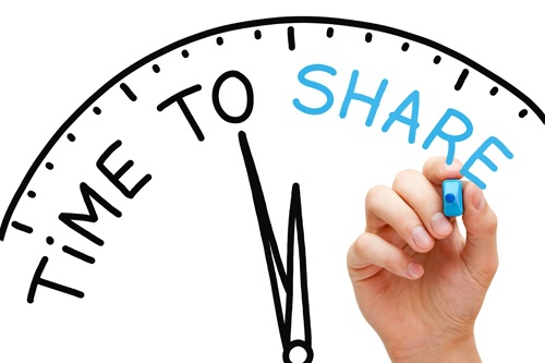 stop selling start sharing time to share