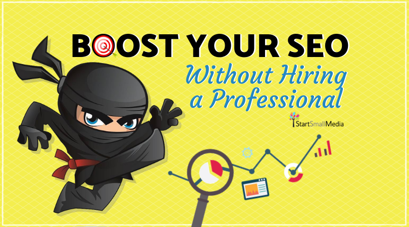 boost website seo without hiring professional ninja tricks tips 810 x 450