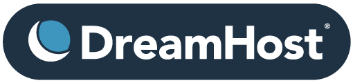Dreamhost logo host your website domain