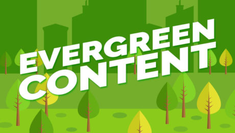 what is evergreen content