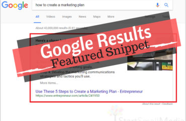 google results featured snippets border