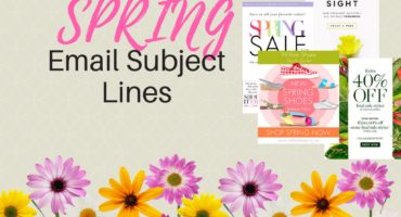 spring email subject lines that work