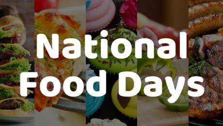 national food days complete list