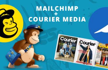 MAILCHIMP acquires courier media London
